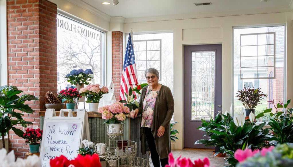 Mary Benken of Wyoming Florist